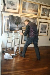 Jeff Rowland Paints Live!!