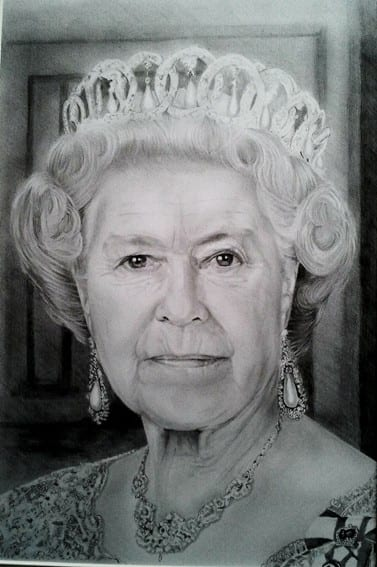 The Queen By Colin Prideaux!