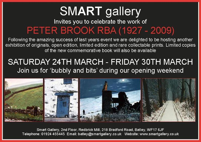 PETER BROOK WEEKEND EVENT 24TH – 25TH MARCH