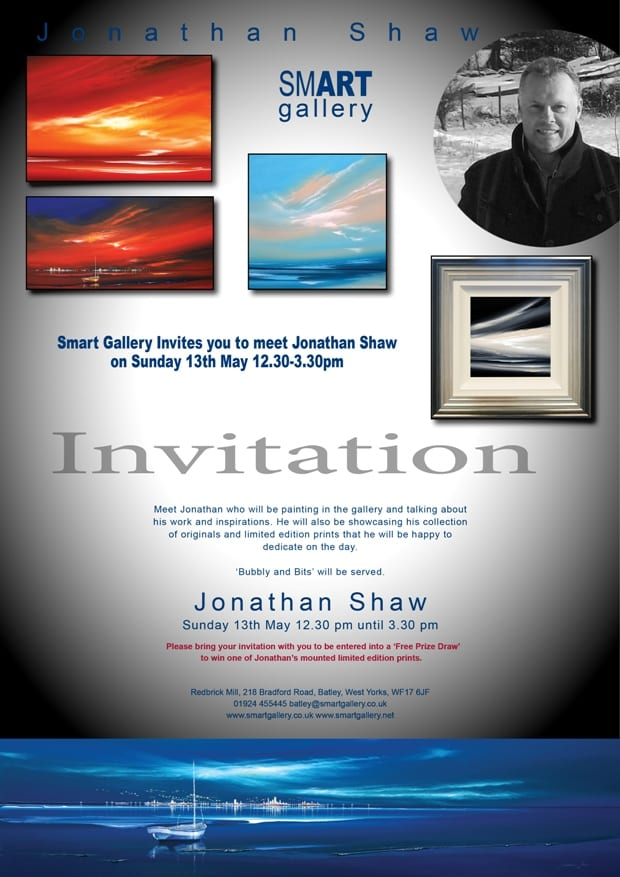 Jonathan Shaw Exhibition, at Smart Gallery!