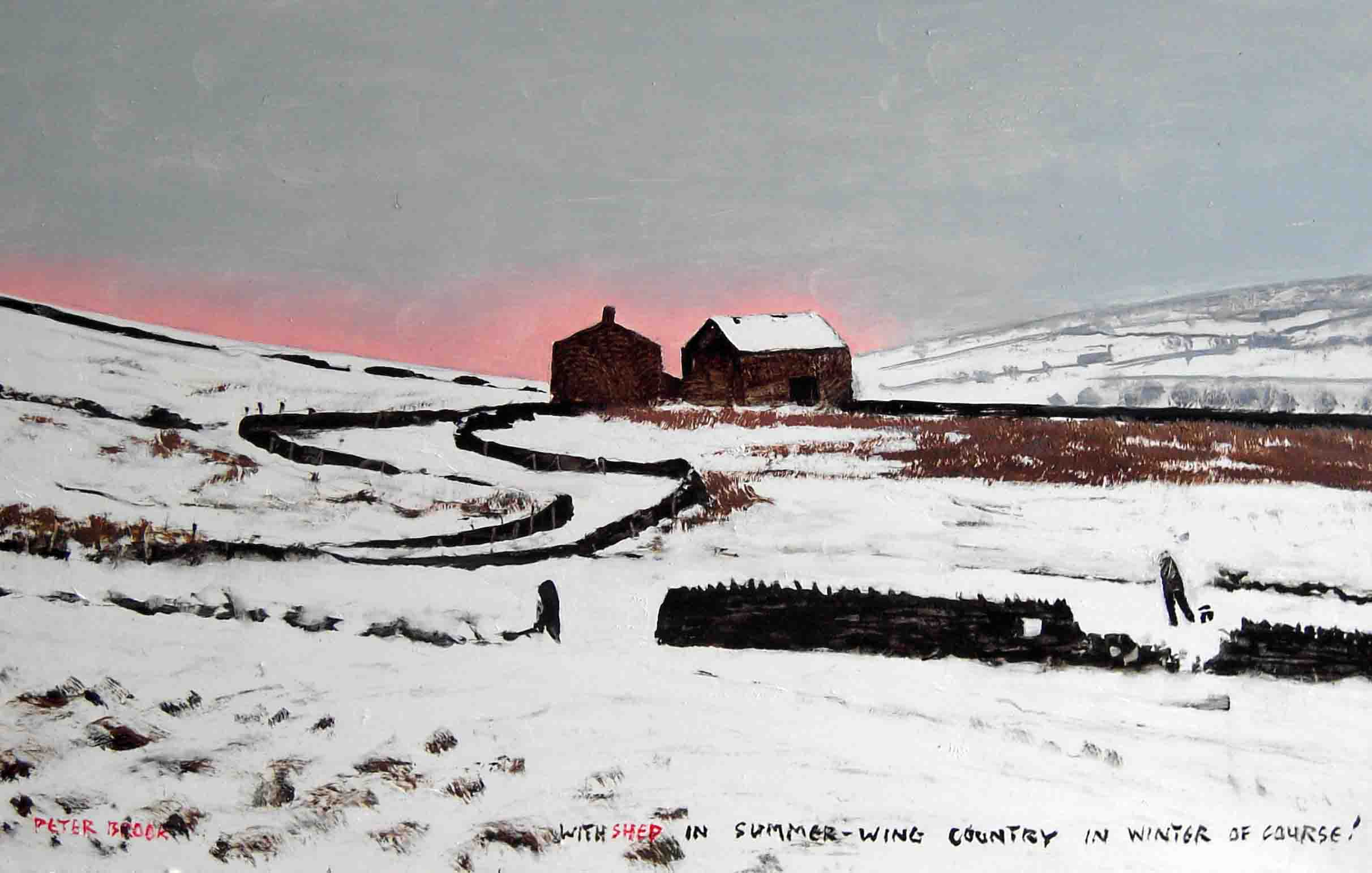 PETER BROOK WEEKEND EXHIBITION! 2nd & 3rd MARCH 2013