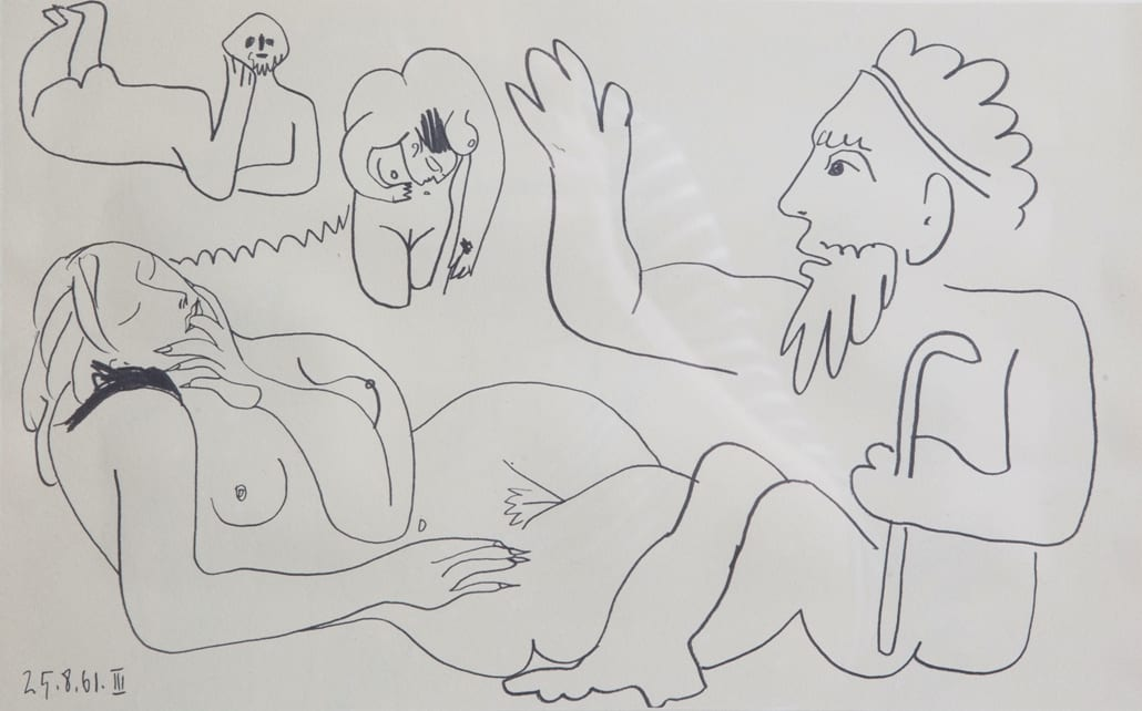LONDON'S PICASSO EXHIBITION COMES TO SMART GALLERY