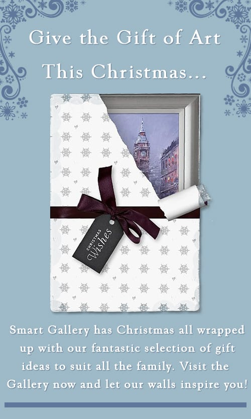Give the Gift of Art this Christmas with Smart Gallery