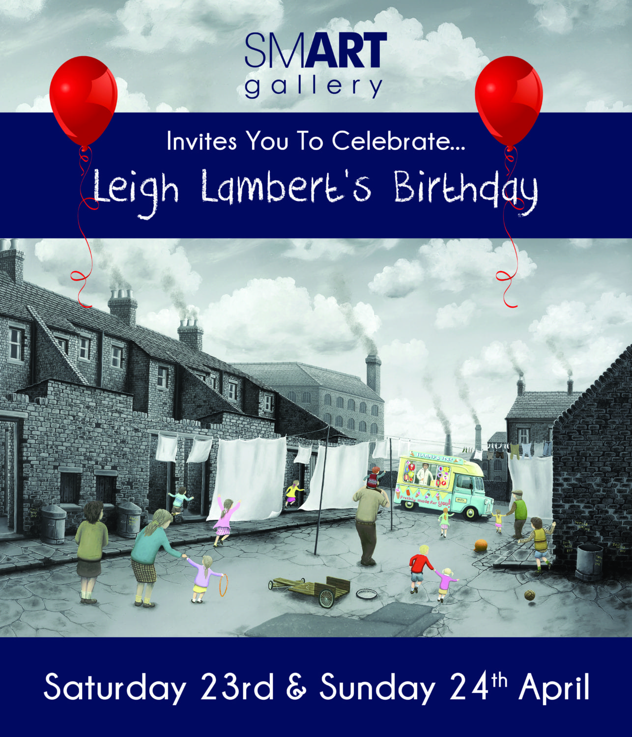 Leigh Lambert Exhibition | Saturday 23rd & Sunday 24th April