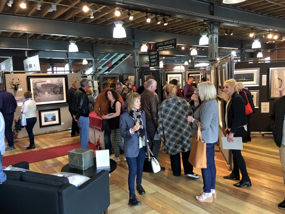 Leigh Lambert Exhibition Photos | Great Success